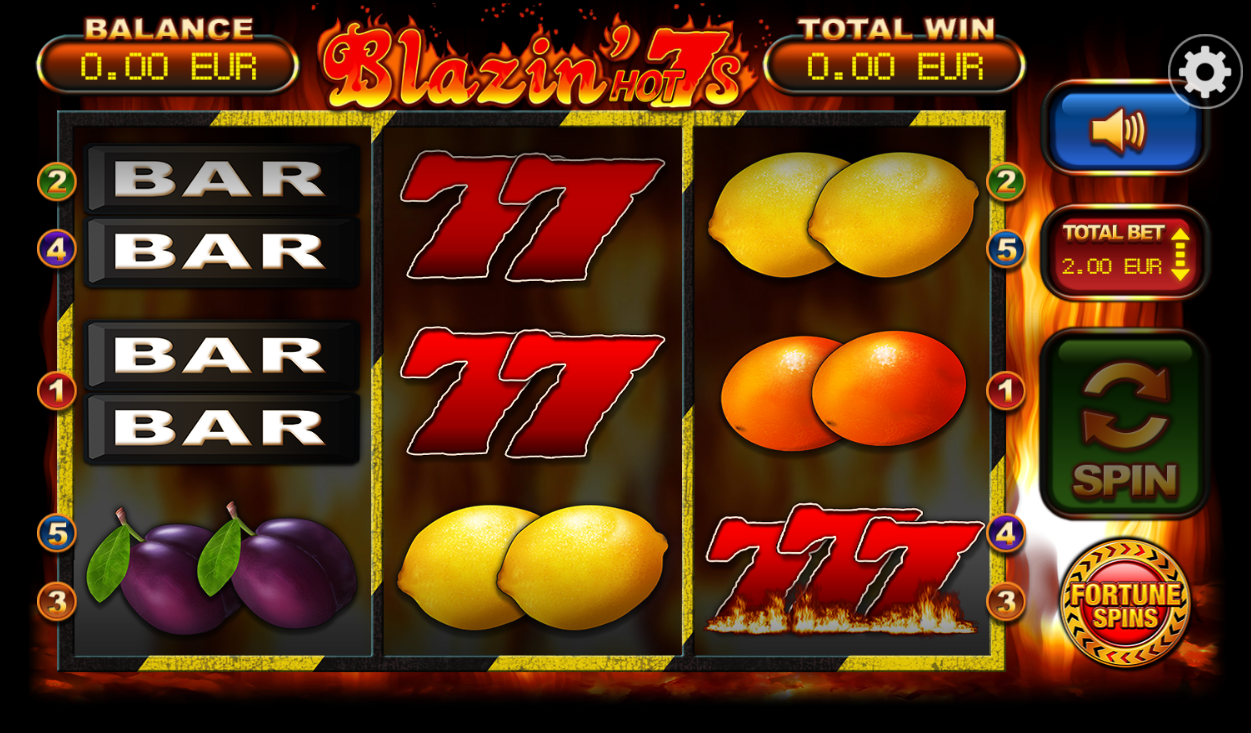 Spiele Blazin Hot 7s - Video Slots Online